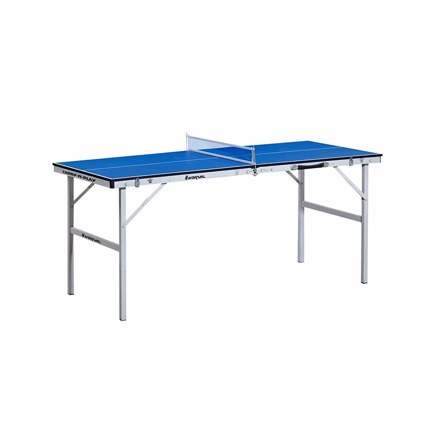 ee9dd1f4288 Harvil 60-Inch Folding Portable Table Tennis Table with FREE Accessories