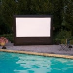 Best Outdoor Movie Screen - Take Movie Night to the Back Yard!